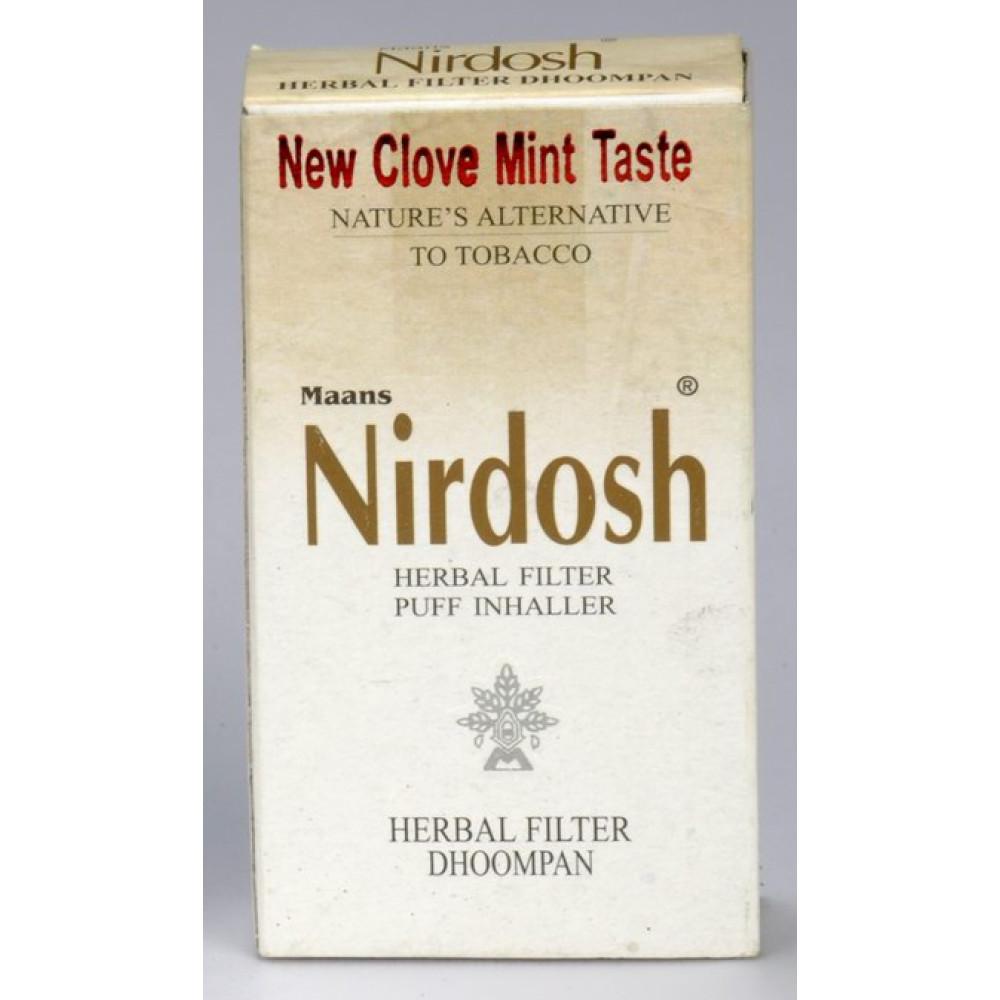 Buy Nirdosh Herbal Filter Cigarettes 10 Units Online At